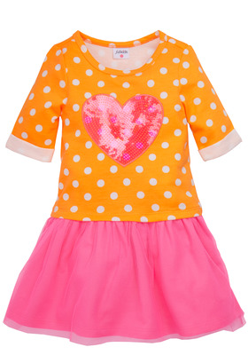 Heart & Dot Tutu Dress
