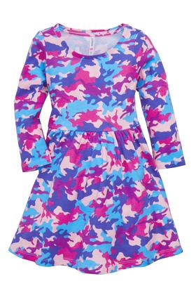 Camo Skater Dress