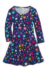 Star Fit & Flare Dress