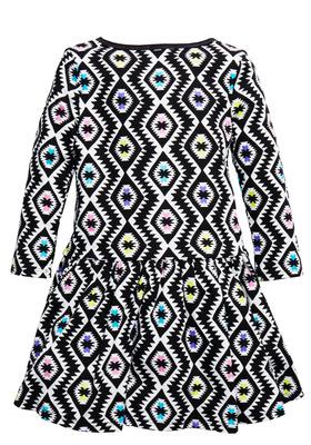 Tribal Drop Waist Dress