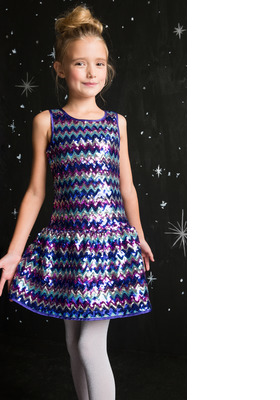 Sequin Holiday Dress