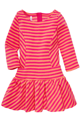 Striped Drop Waist Dress