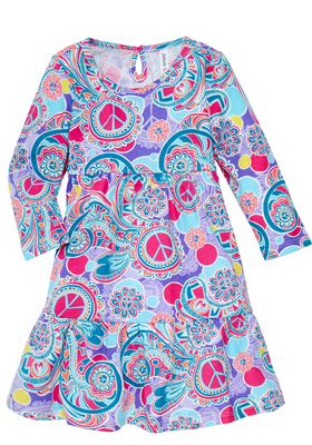 Boho Love Babydoll Dress