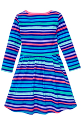 Stripe Skater Dress