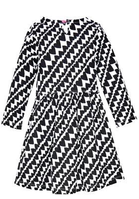 Striped Hearts Skater Dress