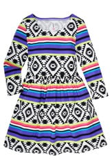 Tribal Skater Dress