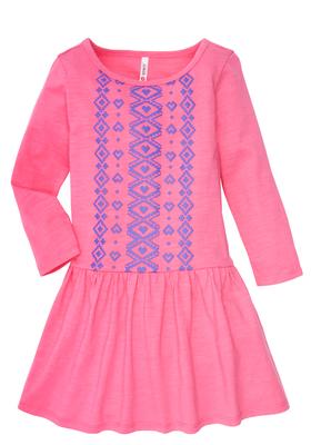 Tribal Heart Drop Waist Dress