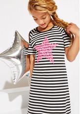 Neon Star Maxi Dress