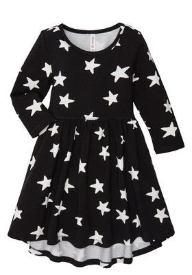 Star Hi-Low Dress