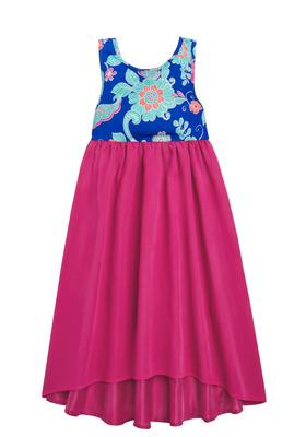 Floral Midi Tulle Dress