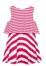 Striped Popover Dress