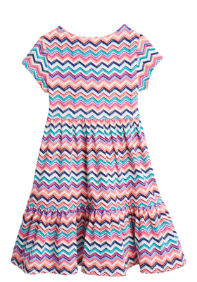 Chevron Stripe Boho Dress
