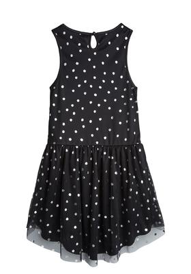 Hi-Low Silver Dot Tutu Dress