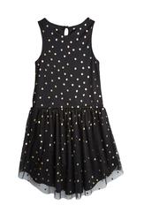 Hi-Low Gold Dot Tutu Dress