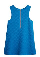 Mod Quilted Zipper Dress