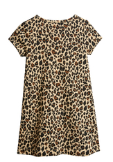 Cheetah A-Line Dress