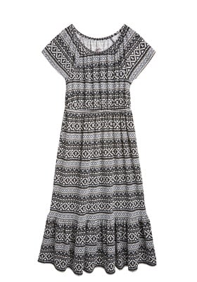 Mosaic Tribal Maxi Dress