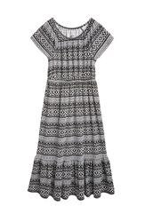 Mosaic Tribal Maxi Dress