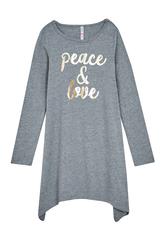 Peace & Love T-Shirt Dress