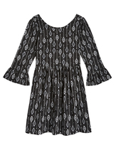 Bell Sleeve Babydoll Dress