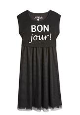 Bonjour! Popover Midi Dress