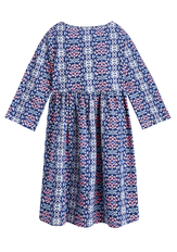Geo Hi-Low Babydoll Dress