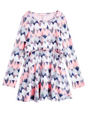 Chevron Popover Dress