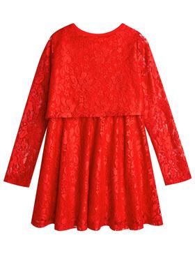 Lace Popover Dress