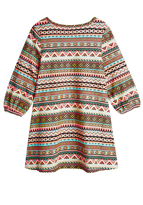 Tribal A-Line Dress