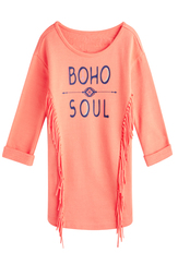 Boho Soul Sweatshirt Dress