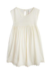 Lace Trim Babydoll Dress