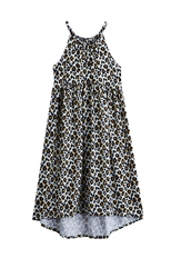 Leopard Hi-Low Dress