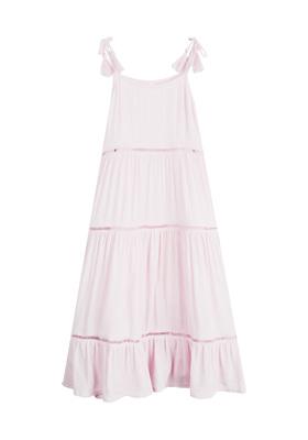 Tassel Tie Maxi Dress