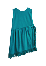 Fringe Drop Waist Dress