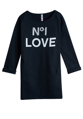 Love Sweatshirt Dress