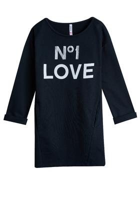 089a55de6f Love Sweatshirt Dress Outfit - FabKids