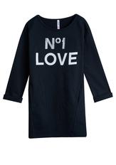 Love Sweatshirt Dress