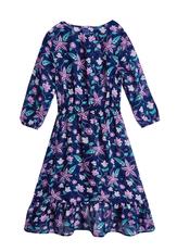 Boho Floral Midi Dress