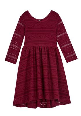 Lace Skater Dress