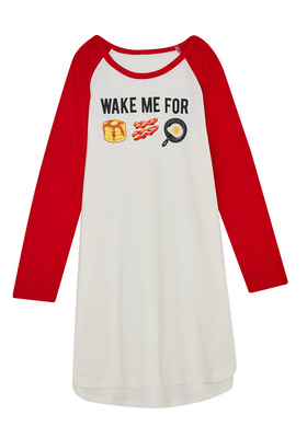 Wake For Breakfast Sleep Tee