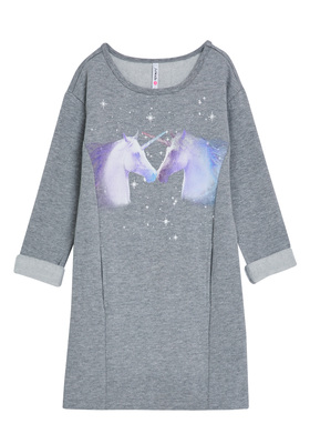 Unicorn Sweatshirt Dress