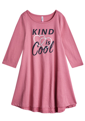 Kind Is Cool T-Shirt Dress