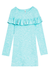 Softest Knit Ruffle Trim Dress