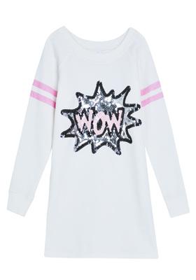 Wow Graphic Sweatshirt Dress