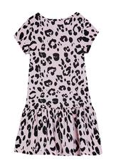 Leopard Drop Waist Dress
