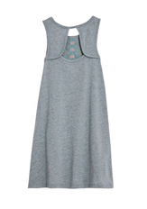 Hi-Low Printed Tank Dress