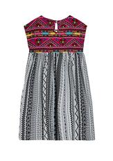 Tassel Print Dress