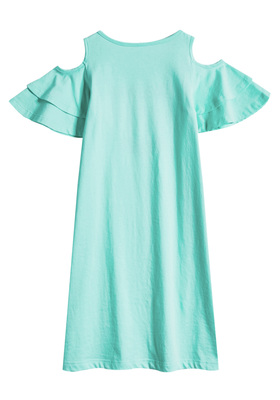 One In A Melon Cold Shoulder Dress