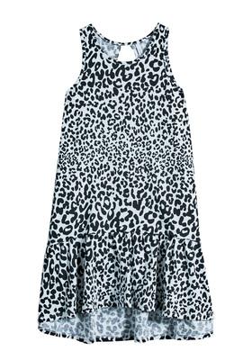 Cheetah Hi-Low Tank Dress