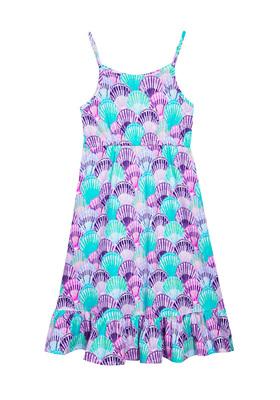 Seashell Ruffle Dress